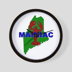Mainiac Wall Clock