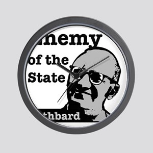 Enemy of the State - Rothbard Wall Clock