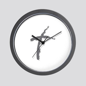 Contemporary Cross Wall Clock