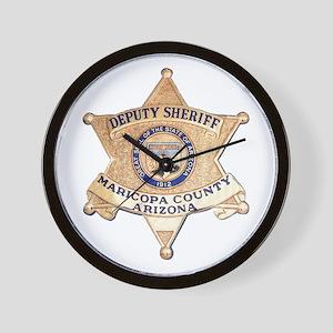 Maricopa County Sheriff Wall Clock