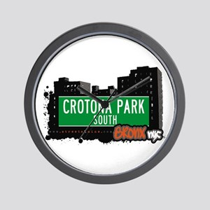 Crotona Park South, Bronx, NYC Wall Clock