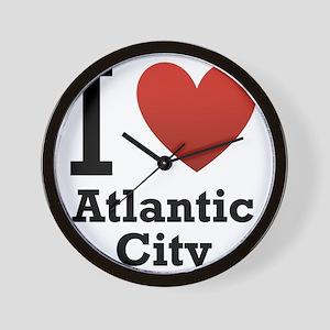 I-Love-Atlantic-City Wall Clock