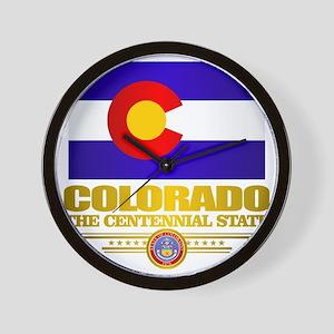 Colorado Pride Wall Clock