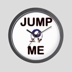 "Carchick's ""Jump Me"" Wall Clock"