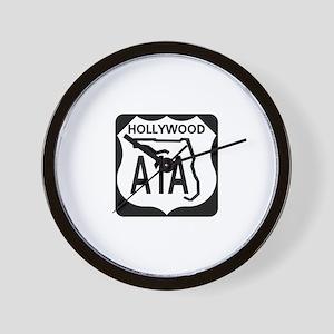 A1A Hollywood Wall Clock