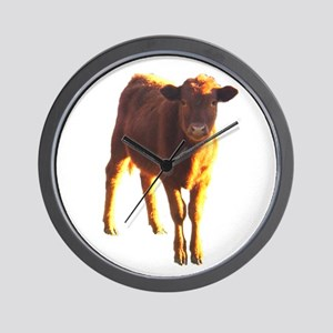 red angus Wall Clock