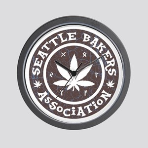 Seattle Bakers Wall Clock
