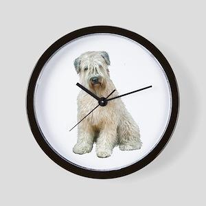 Wheaten Terrier (8) - Sit Wall Clock