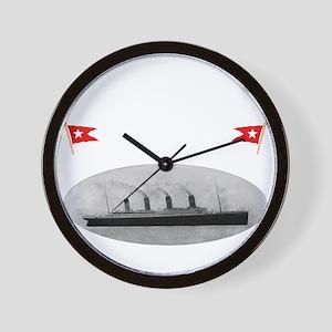 TG2TransWhite12x12-e Wall Clock