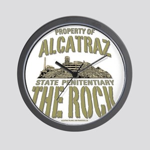PROPERTY OF THE ROCK Wall Clock