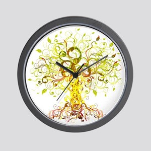 Tree Art Wall Clock