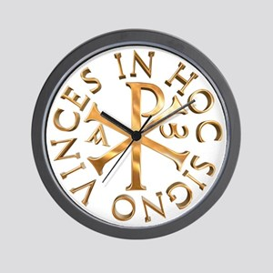 Chi-Rho Wall Clock