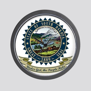 South Dakota Seal Wall Clock