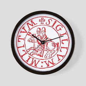 Knights Templar Wall Clock