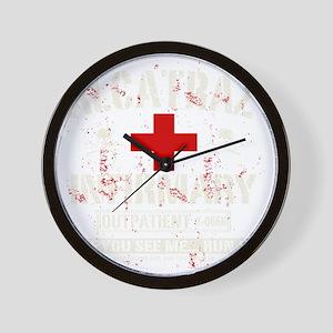 ALCATRAZ_INFIRMARY Wall Clock