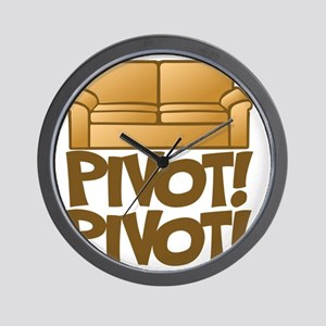 Pivot! Pivot! [Friends] Wall Clock