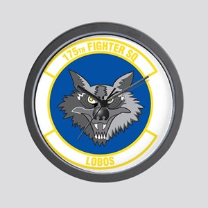 175th_fighter_squadron Wall Clock