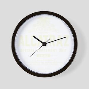 Alcatraz S.T.U. Wall Clock