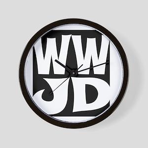 W W J D Wall Clock