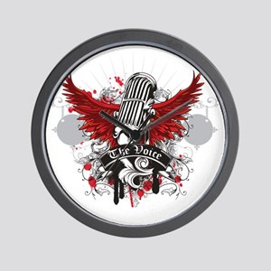 The-Voice-Wings Wall Clock