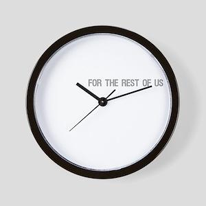 FESTIVUS™ DARK Wall Clock