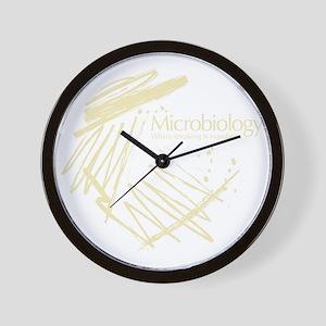 Microbiology Wall Clock