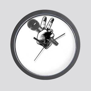 The Voice Grunge Wall Clock