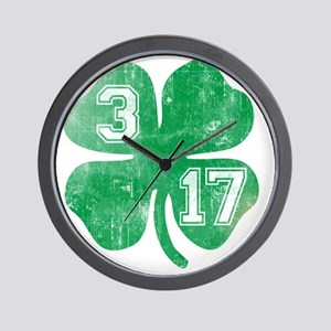 shamrock317 Wall Clock