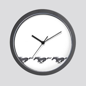 Mens mustang Wall Clock