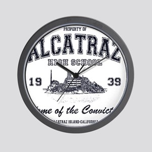 Alcatraz High School Wall Clock