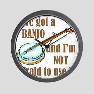 iveGotBanjo Wall Clock