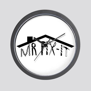 MR FIX-IT Wall Clock
