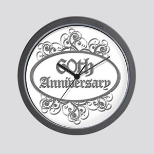 60th Aniversary (Engraved) Wall Clock