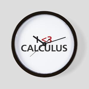 I <3 Calculus Wall Clock