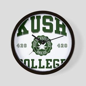 KUSH_COLLEGE_ Wall Clock