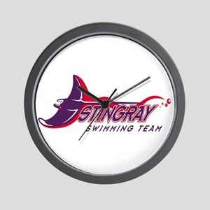 Stingray Swim Team Wall Clock