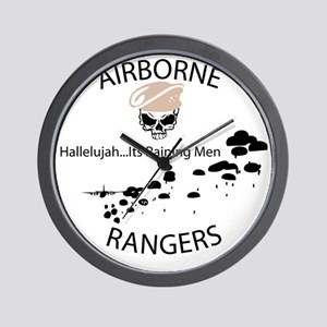 airborne ranger Wall Clock