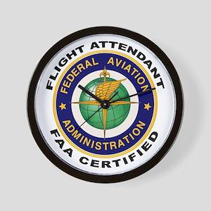 Flight Attendant Wall Clock