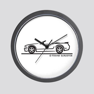 Ford GT Mustang Convertible Wall Clock