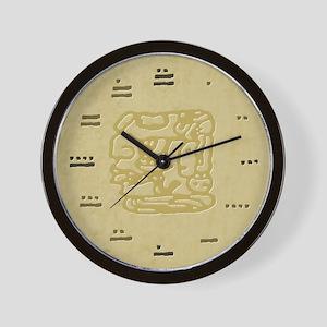 Mayan Numbers Maya Wall Clock
