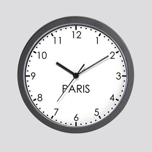PARIS Modern Newsroom Wall Clock