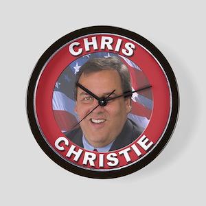 Chris Christie Wall Clock