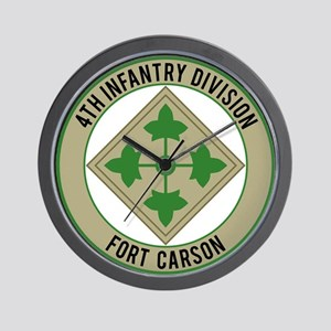4th Infantry post Wall Clock