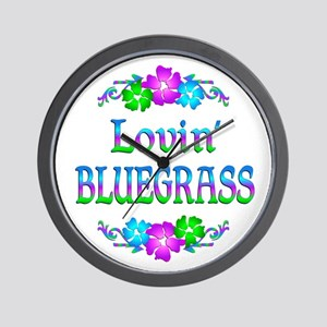 Lovin Bluegrass Wall Clock