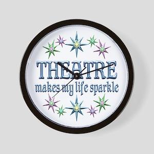 Theatre Sparkles Wall Clock