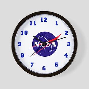 NASA Meatball Logo Wall Clock
