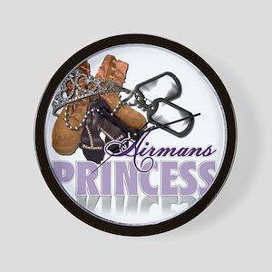Airmans Princess Wall Clock