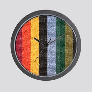 Striped Wall Clock