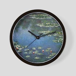 Waterlilies by Claude Monet Wall Clock