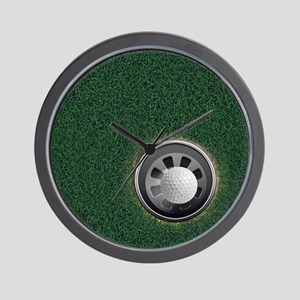 Golf Cup and Ball Wall Clock